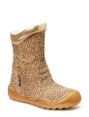 Tex Boot with Zip - LEOPARD