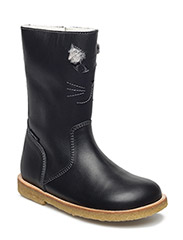 ECOLOGICAL HAND MADE Water proof Boot - 03-BLACK