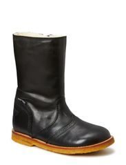 Tex Boot with zip - BLACK