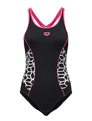 W XPIVOT NEW SWIM PRO - 509-BLACK-FRESIA ROSE