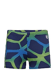 M SPIDER SHORT - 706-NAVY-LEAF
