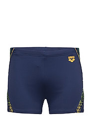M RETICULUM SHORT - 703-NAVY-LILY YELLOW