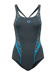 W MICROCARBONITE ONE PIECE LB - 518-SHADOW GREY-TURQUOISE-WHITE