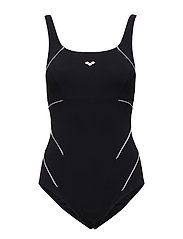 W JEWEL ONE PIECE - 51-BLACK-WHITE