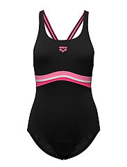 W PRESTIGE ONE PIECE - 509-BLACK-PAPARAZZI-FRESIA ROSE