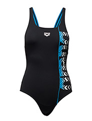 W FLOATER ONE PIECE - BLACK, TURQUOISE