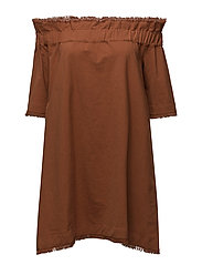 Mia Fray Linen - BURNT ORANGE