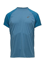 LITE-SHOW SS TOP - THUNDER BLUE HEATHER