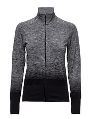 fuzeX SEAMLESS JKT - PERFORMANCE BLACK