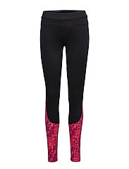 RACE TIGHT - PERFORMANCE BLACK/LITE STRIPE COSMO PINK