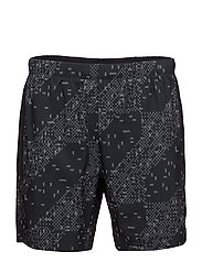 LITE-SHOW 7IN SHORT - LITE STRIPE PERFORMANCE BLACK