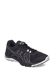 GEL-CRAZE TR 4 - BLACK/BLACK/WHITE