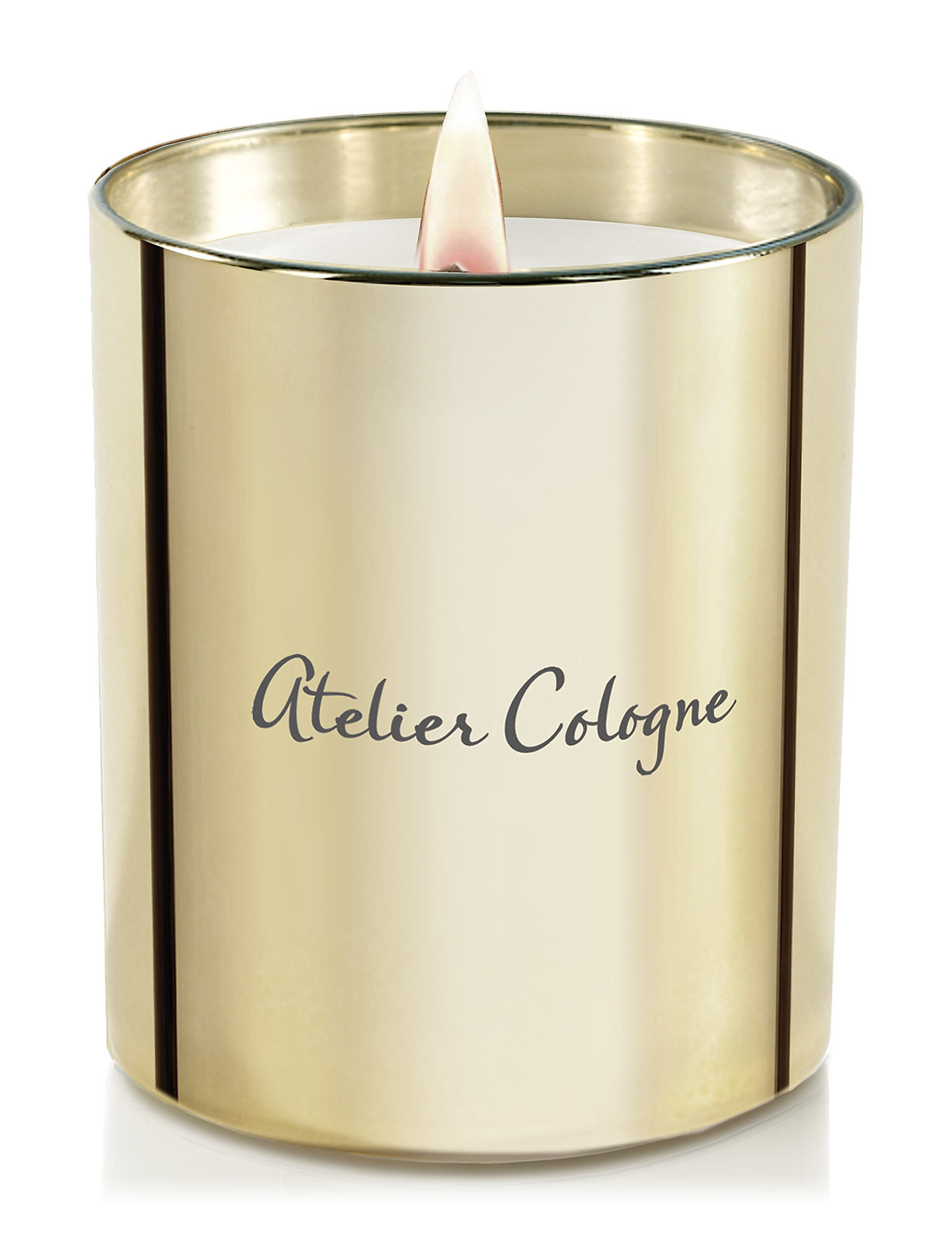 atelier cologne Gold leather candle 190 gr fra boozt.com dk