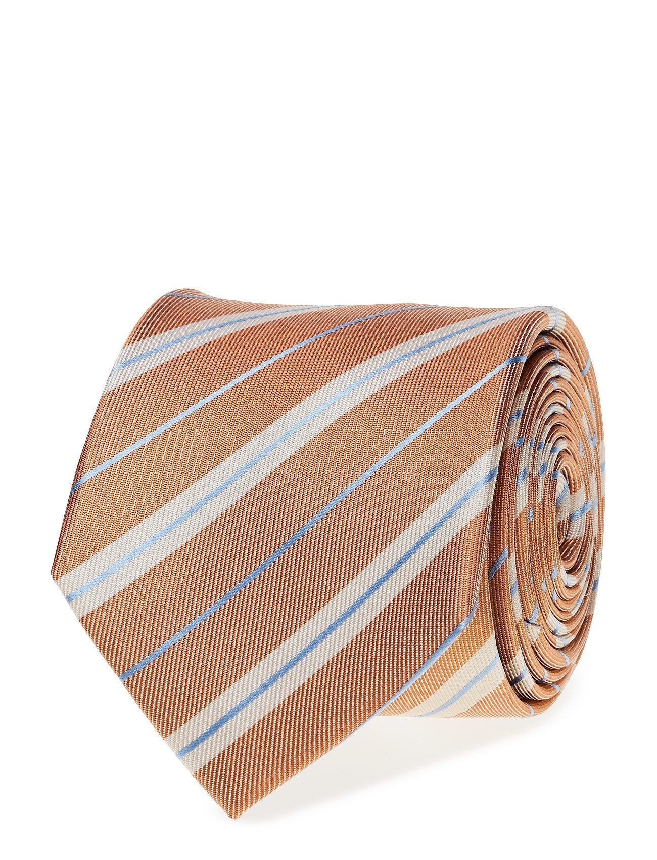 Tie Stripe ATLAS DESIGN Slips til Herrer i Koral