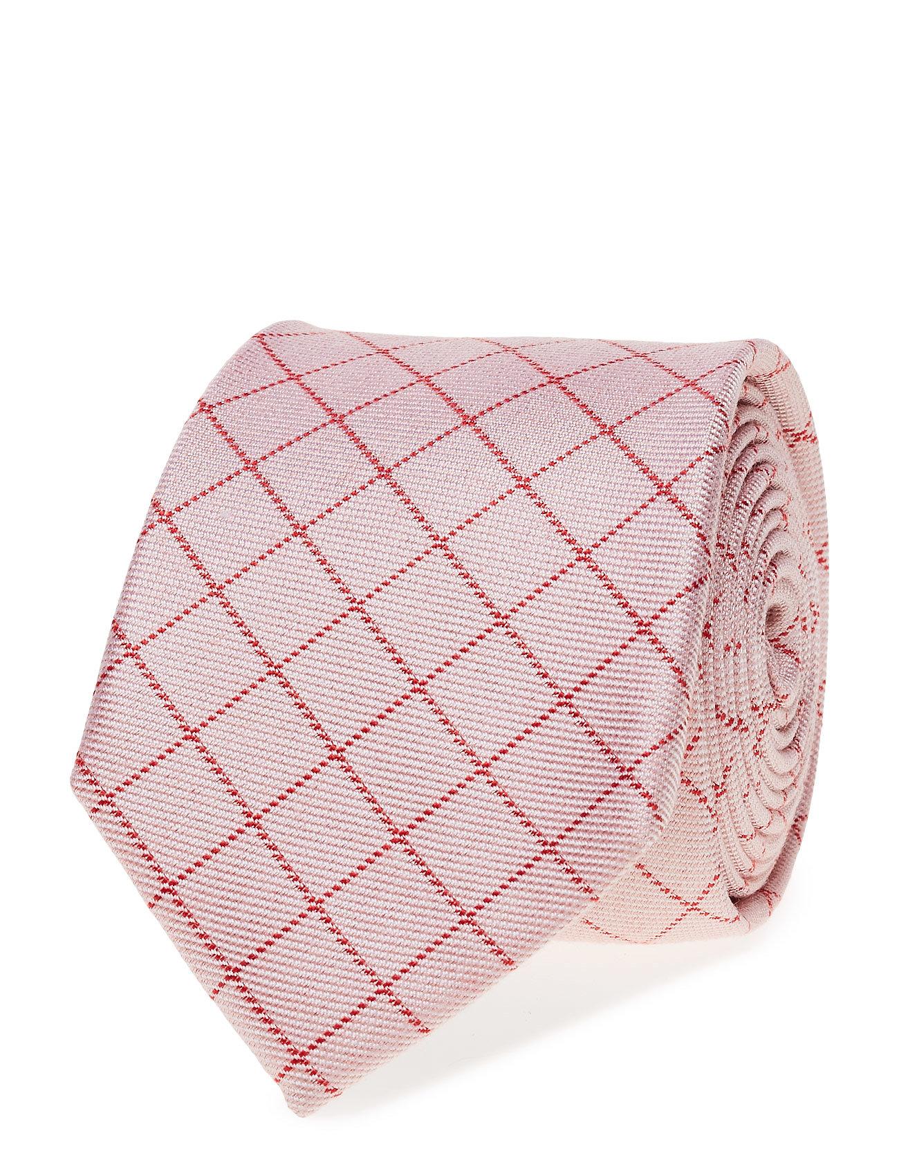 Tie Check ATLAS DESIGN Slips til Herrer i Lyserød