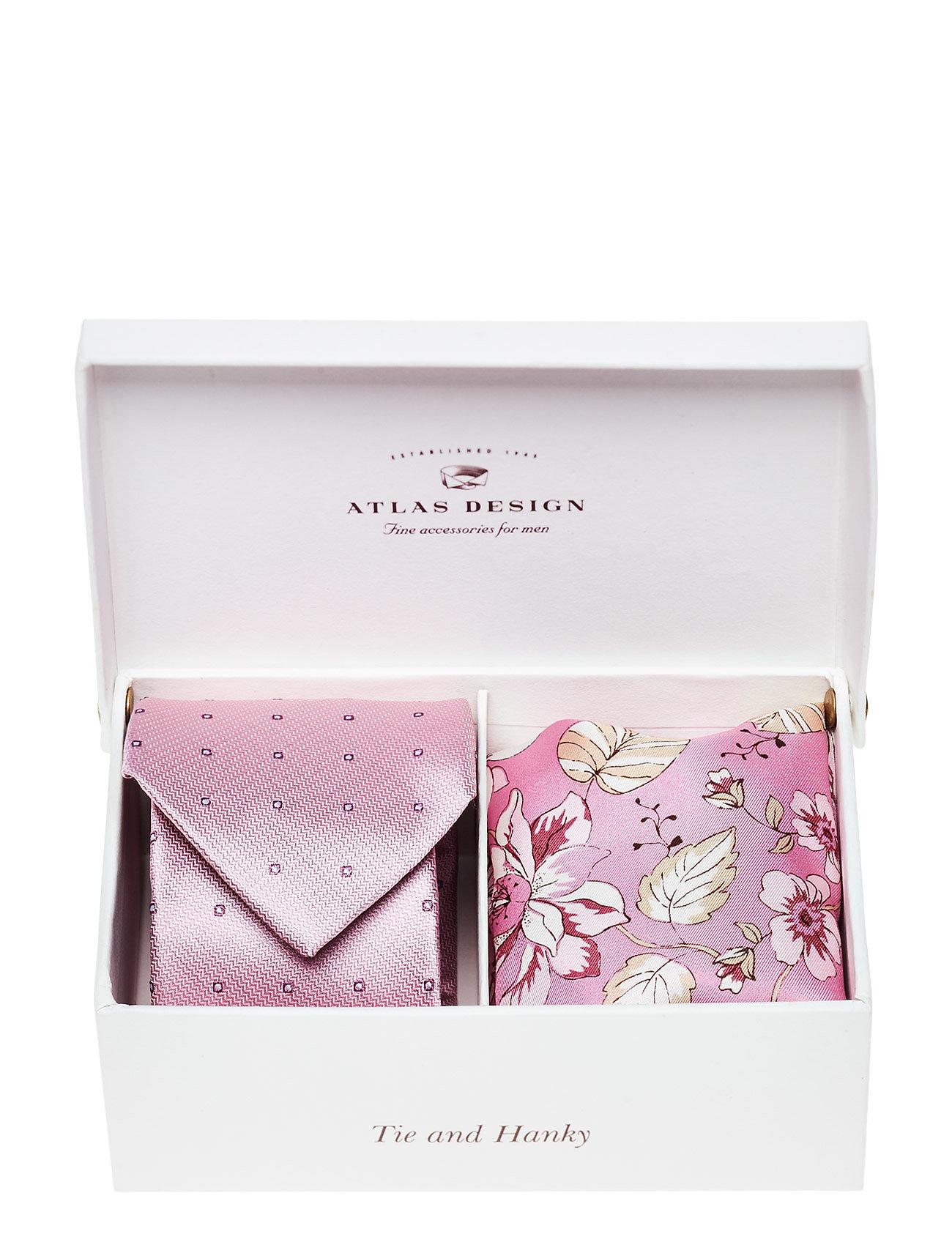 Gift Box Classic Silk Kit ATLAS DESIGN Slips til Herrer i Beige