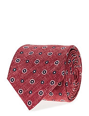 TIE PRINTED COTTON - RED