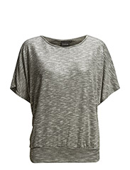 Rulana mid. sleeve - - Light grey mel.