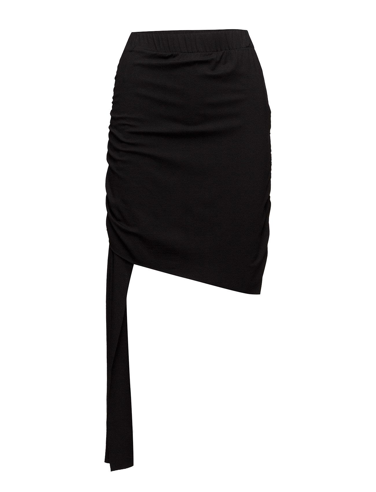 Big wrap skirt jersey fra back fra boozt.com dk