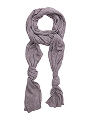 Knot scarf - GREY MARL
