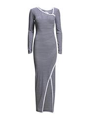 Wrap dress - Blue Stripe