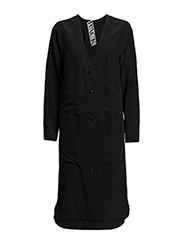 Worker dress - black