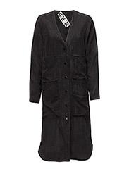 Worker dress - BLACK