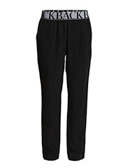 Logo elastic trousers - black