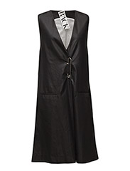 Pin suit dress - BLACK