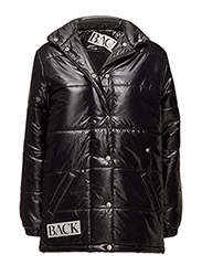 Drunk puffa jacket - BLACK