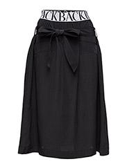 Logo worker skirt - BLACK