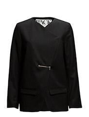 Zip jacket - BLACK