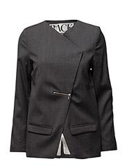 Zip jacket - CHARCOAL MARL