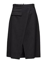 Drunk suiting skirt - BLACK