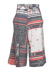 Monogram trouser - SCARF PRINT
