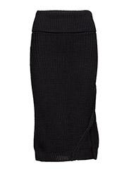 Drunk skirt - BLACK