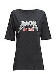 Back in hell t-shirt - navy