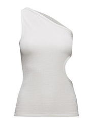 CUT OUT TANK - OFF-WHITE