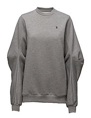 Elbow sweatshirt - GREY MEL
