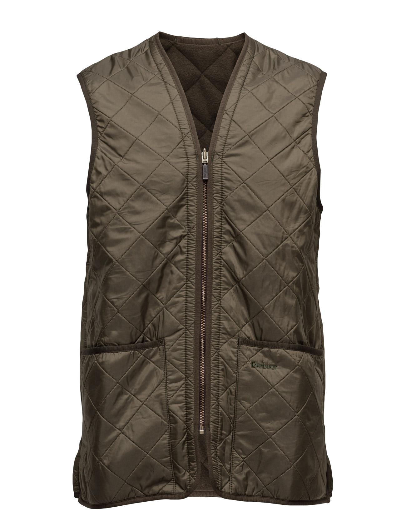Polarquilt waistcoat/zip-in liner fra barbour på boozt.com dk