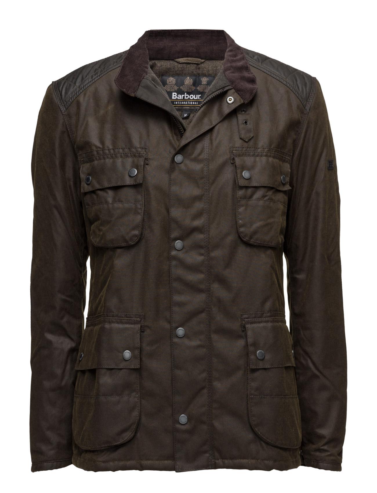 B.intl weir wax jacket fra barbour på boozt.com dk