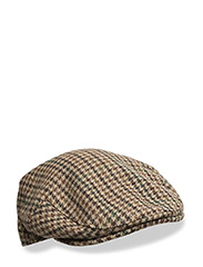 Moons Tweed Cap - BROWN
