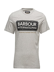 International Logo Tee - GREY MARL