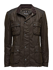 B.Intl Weir Wax Jacket - OLIVE