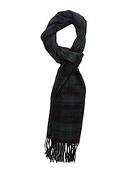 New Check Tartan Scarf - BLACK WATCH