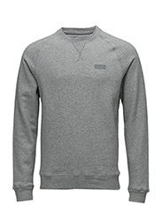 B.Intl Essential Crew Sweat - GREY MARL
