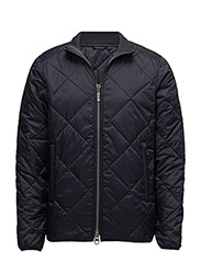 B.Intl Quilted Gabion Jacket - NAVY