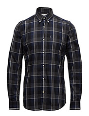 Barbour Gower Shirt - GREY MARL