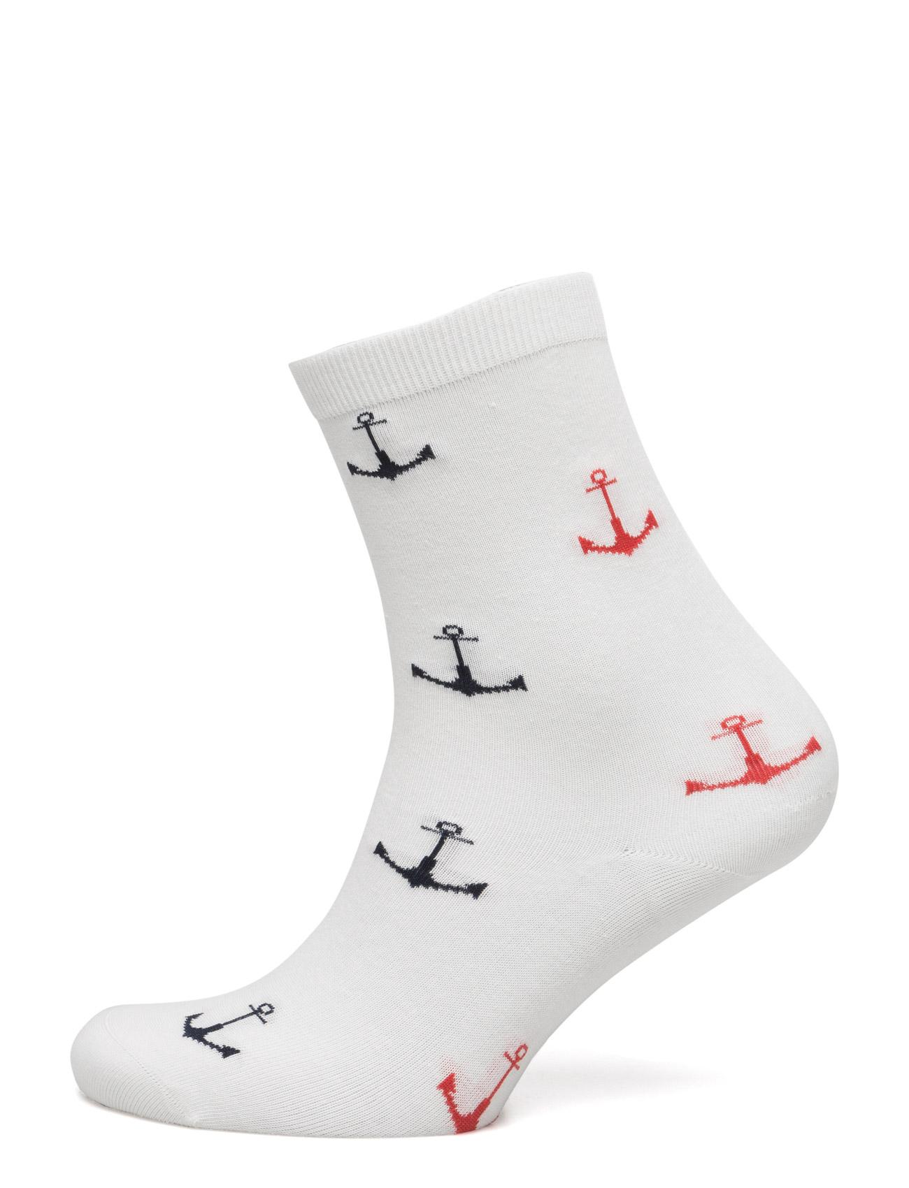 Barbour Anchor Sock Barbour Strømpebukser til Damer i Ecru