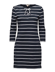 Barbour Watergate Dress - NAVY/WHITE